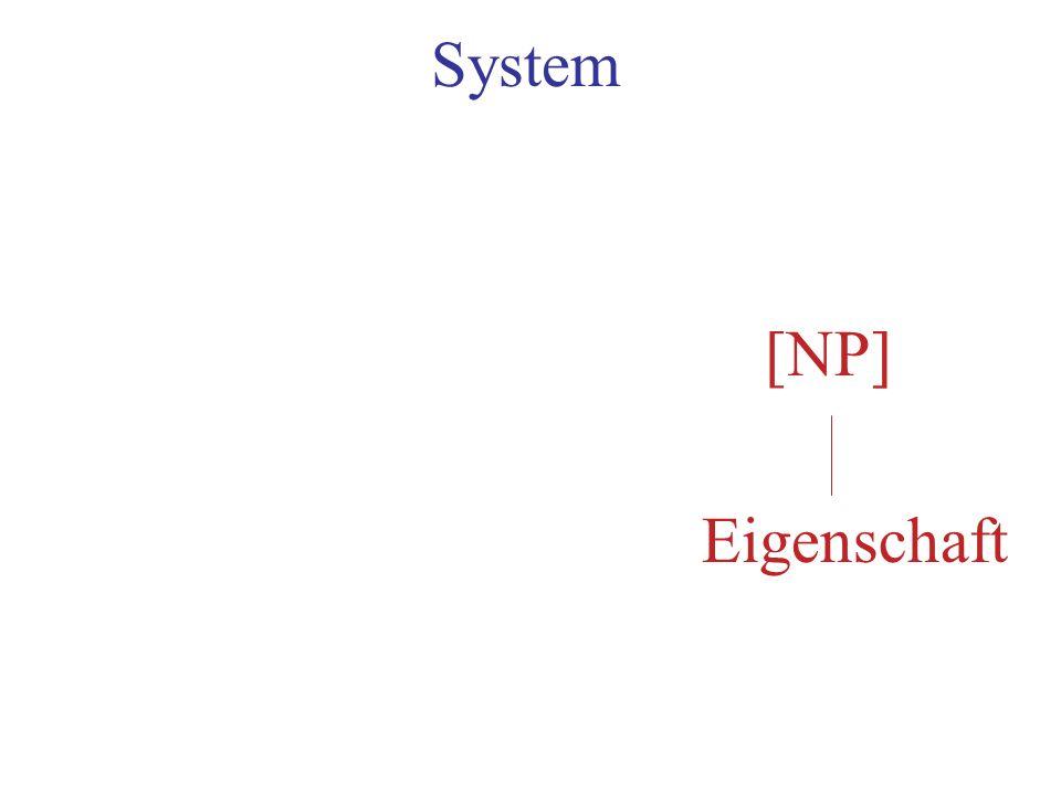 System [NP] Eigenschaft